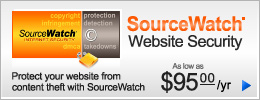 SourceWatch Website Security